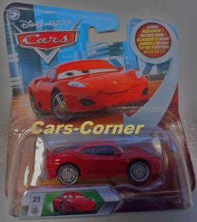 Disney Pixar Cars 1 Ferrari F 430 #21 ++ Michael Schumacher ++ Look my