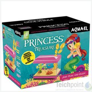 Aquael Kinder Mini Aquarium Set Princess Treasure Neu