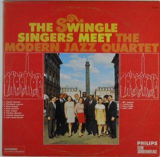 THE SWINGLE SINGERS MEET THE MODERN JAZZ QUARTET   LP