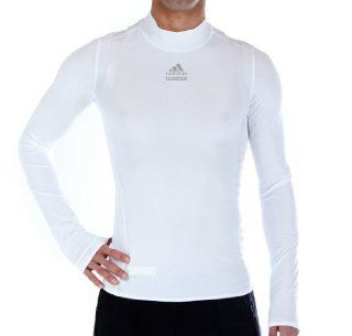 Adidas Herren TechFit PowerWeb Funktions Shirt langarm Gr. M white