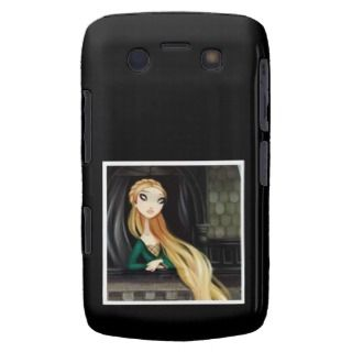 Dark Fairy Tale Character 2   Rapunzel Blackberry Cases