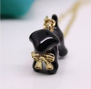G4633 New fashion Womens lovely dog necklace chain
