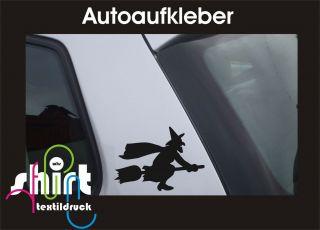 439   Hexe Hexen Aufkleber Autoaufkleber Sticker Witch