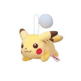 Pokemon I Love Pikachu Plüsch Anhänger / Ball Chain Pikachu