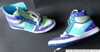 Akira by Görtz * High Tops * Sneaker * 39 * lila   grün Neon * sehr
