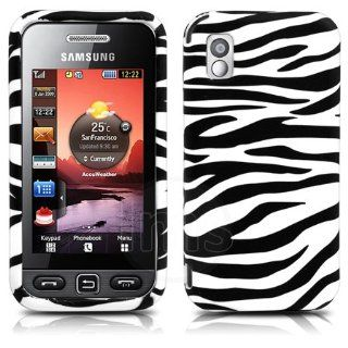 AIO Black Zebra Gel Case Cover For Samsung Tocco Lite