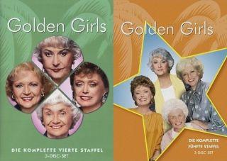 Golden Girls (Die komplette 4. + 5. Staffel)  6 DVD  444
