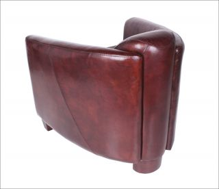 Sessel Ledersessel Design Lounge Clubsessel Sofa Möbel NEU 443