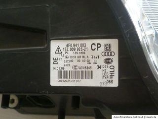 Audi A6 4F Xenon Lampe Scheinwerfer links LED defekt Tagfahrlicht