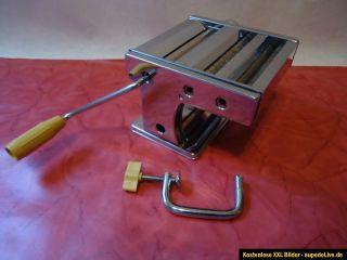 Nudelmaschine Pasta, Teig Maschine Ampia Superlusso, 3 Walzen