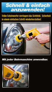 MEGUIARS Scheinwerfer Politur Set / Meguiars Headlight Restoration Kit