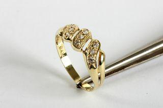 GELEGENHEIT AUS PRIVATBESITZ #312 NEUWERTIGER RING GOLD 585 9