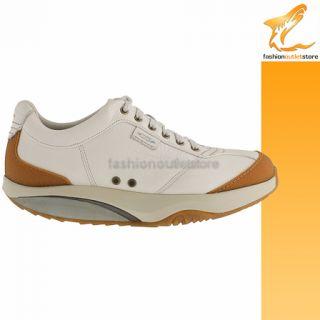 MBT Tembea 41 Birch Herren Schuhe Masai shoes scarpe Sneaker Weiss
