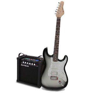 DJ Tech USB E Gitarre Verstärker Set MP3 Amp 50W Neuheit:
