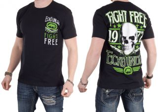 NEW Mens Ecko Unltd. MMA UFC Freedom Fighter T Shirt All Sizes Black
