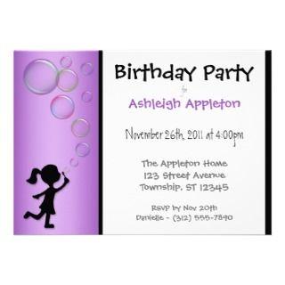 Underwater Fish   Kids Birthday Party Invitations