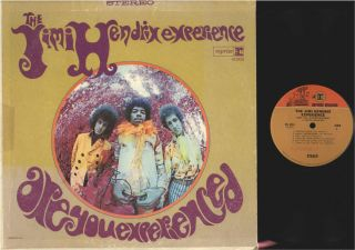 LP / JIMI HENDRIX EXPERIENCE / ARE YOU EXPERIENCED / 2 TONE REPRISE RS