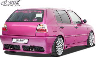 RDX Heckstoßstange VW Golf 3 Heckschürze Tuning Heck