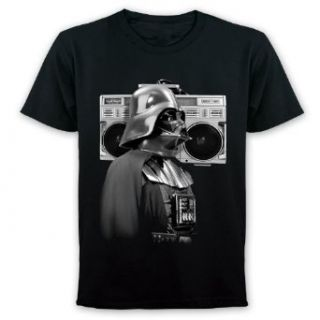Star Wars T Shirt Darth Vader Ghetto Blaster   T Shirt