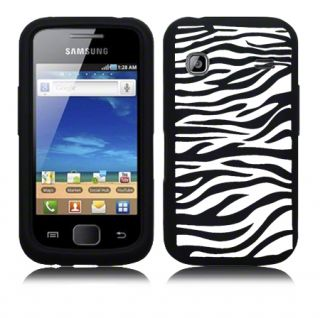 London Magic Store   Black Zebra Silicone Case For Samsung Galaxy Gio
