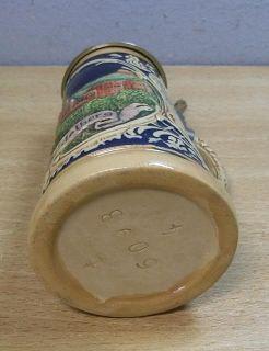 Vintage German Miniature Beer Stein Heidelberg #W