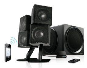 Creative T6 Series II 2.1 Wireless Bluetooth Speaker System schwarz