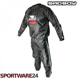 Bad Boy Schwitzanzug Saunaanzug Sweat Suit schwarz M L XL