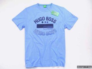 NEU   HUGO BOSS T Shirt Gr. L   TEE 1   Shirt   blau   Green Label