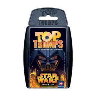 Star Wars Episode 1 3 Top Trumps