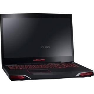 Dell Alienware M17xR3 17,3 Zoll Notebook Laptop schwarz