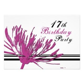DreamingMindCards Teen Birthday Party Invitations Store