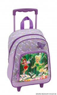 Trolley Disney Fairies TINKER BELL Kinderkoffer Reisetasche Rucksack