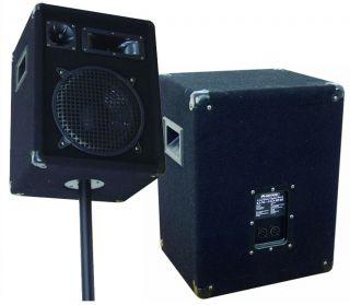 DJ PA Disco Bühne Party Karaoke Musiksystem Boxen Mixer incl. Stereo