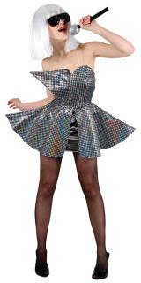 Neu Pop Prinzessin Lady GaGa Style Verkleidung Karneval Halloween
