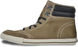 JACK & JONES Herren Leder Sneaker Schuhe Cabin Sand   Größe 41