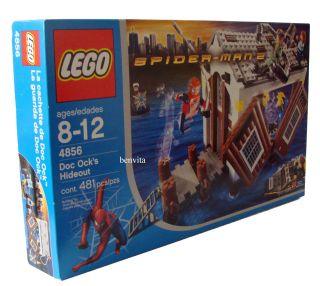 ® 4856 Spider Man 2   Doc Ock`s Versteck 8 12 Jahren 481 Teile   Neu