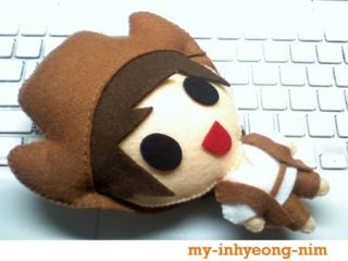 Size] Super Junior Kyuhyun   Three Musketeers Handmade Doll