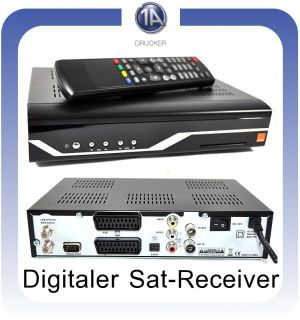 Digitaler Sat Receiver DVB S Astra digital ORANGE STV70
