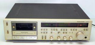 harman kardon CD 491 Ultrawideband Linear Phase Stereo Cassette TAPE