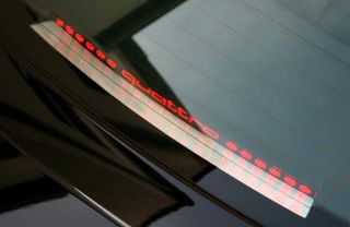 Audi TT MK1 quattro Abt s line 8N 3.2 3,2 Schriftzug 3.Bremsleuchte