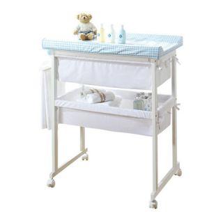Bagnetto Plus con cesta di tessili   linea Basic Micuna Plus Bianco