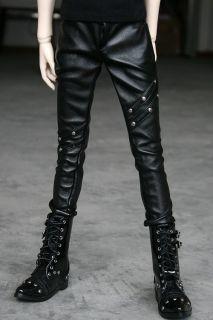 77 Black Leather Trousers/Pants SD17 DZ70 BJD Dollfie