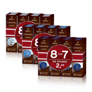29,05€/1kg) Tchibo Cafissimo Filterkaffee 80 Kapseln   NEU