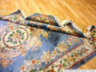 Aubusson 275x180 cm Chinateppich Orientteppich Carpet Rug Teppich