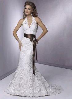 Glamour Spitze Mermaid Hochzeitskleid Brautkleid Wedding dress Neu