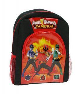POWER RANGERS SAMURAI BACKPACK Free UK Post SCHOOL BAG Rucksack