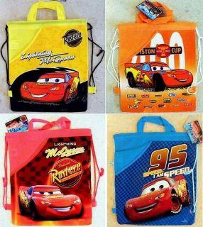 CARS PRINCESS MICKEY MINNIE W. POOH TURNBEUTEL RUCKSACK