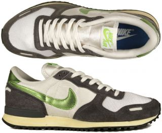 Nike Air Vortex vintage summit white/action green/dark grey safari