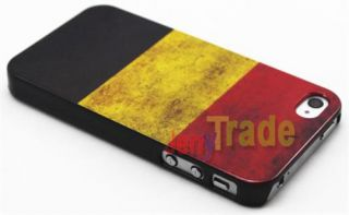 Retro Style Germany Deutschland Flag Hard Back Skin Case Cover for
