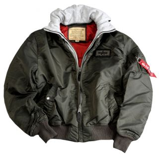 ALPHA INDUSTRIES Fliegerjacke MA 1 D tec   Repl.Grey